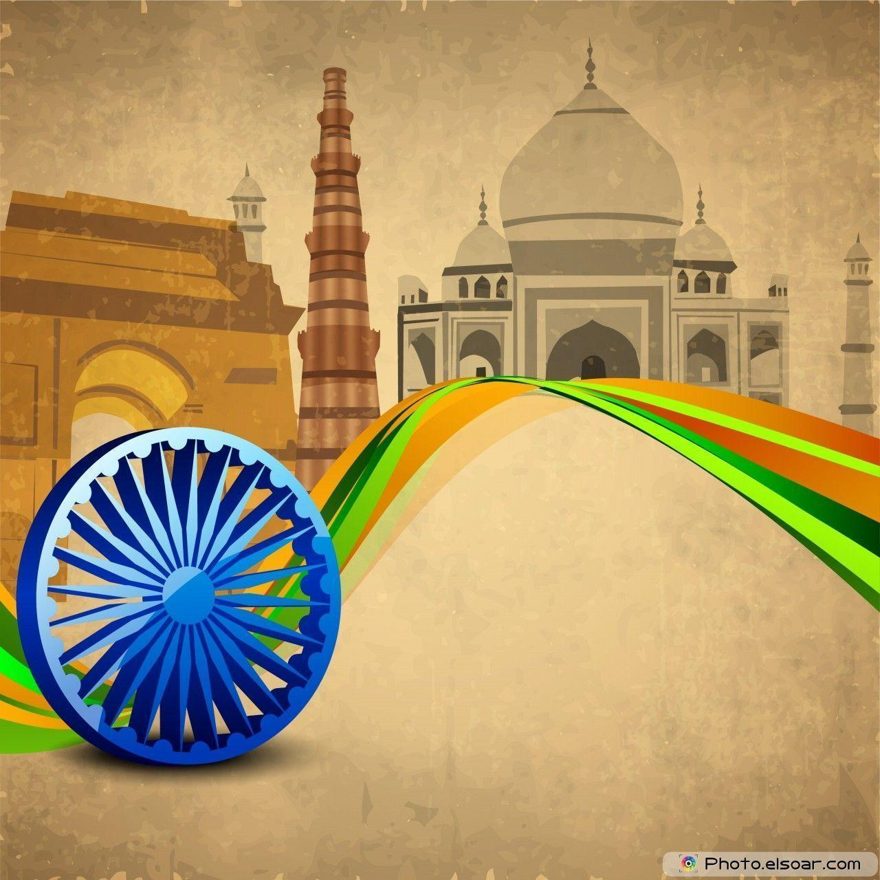 Best 12 Wallpapers For Indian National Holidays • Elsoar