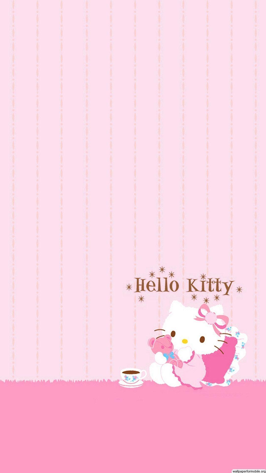 wallpaper iphone 5 pink kitty - photo #1