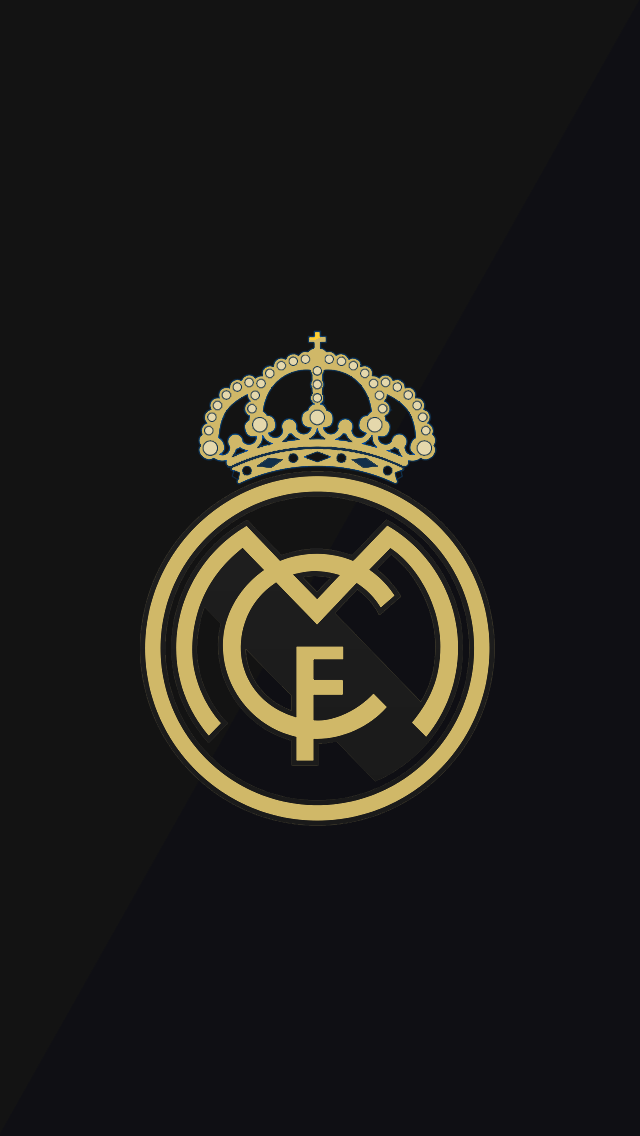 Real Madrid Logo Wallpaper iPhone