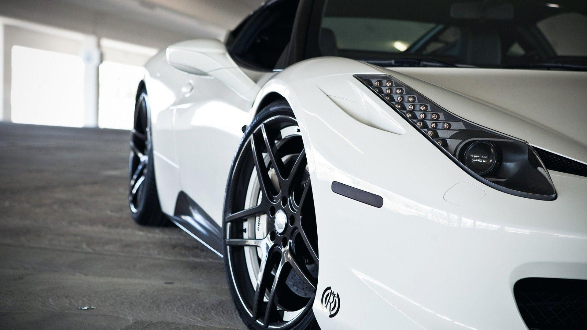 picture 2016 white ferrari 458 italia wallpaper cars images - Ferrari 458 Italia Wallpaper 19201080