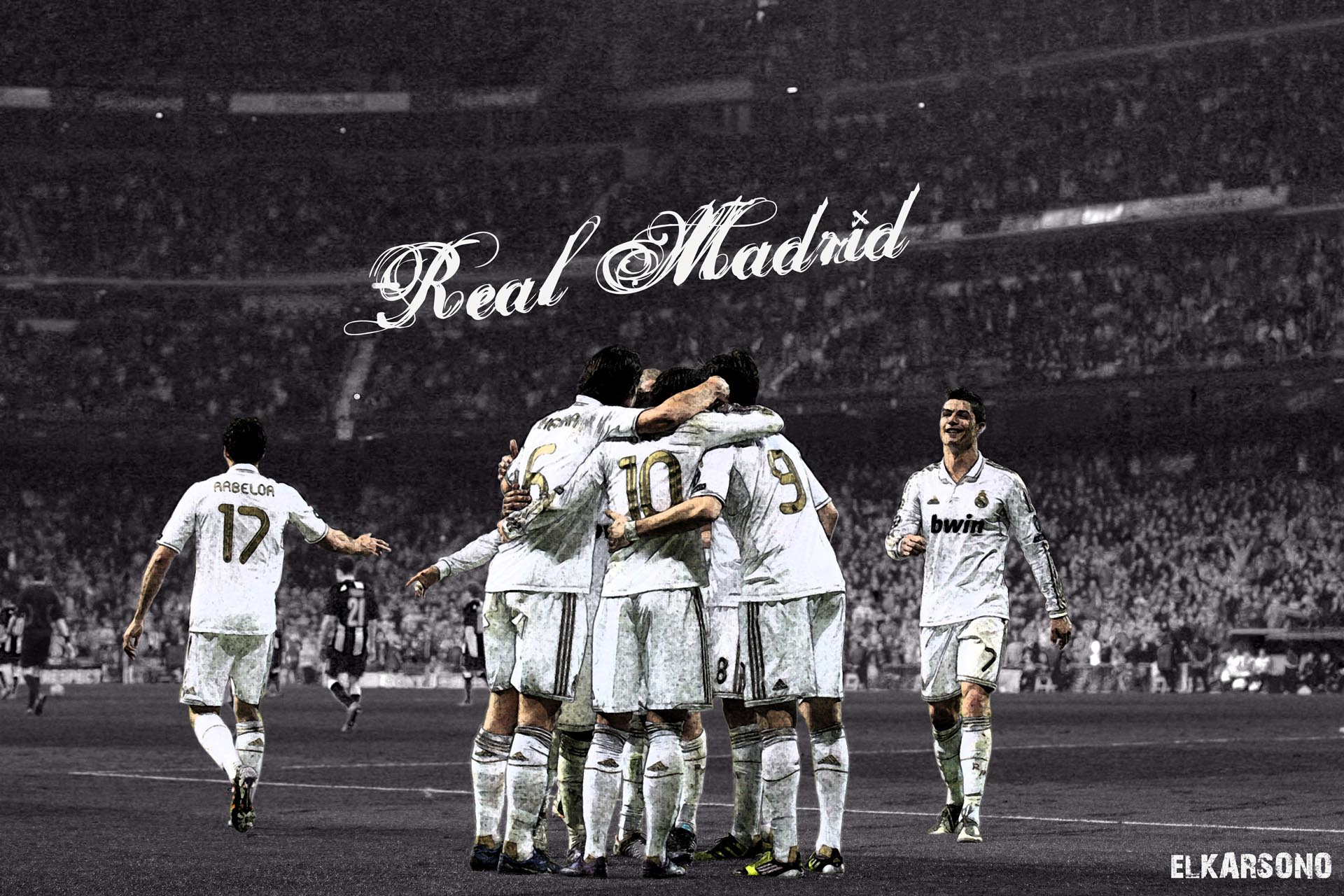 Real Madrid Celebrating Wallpapers Hd 2016 Wallpaper Cave