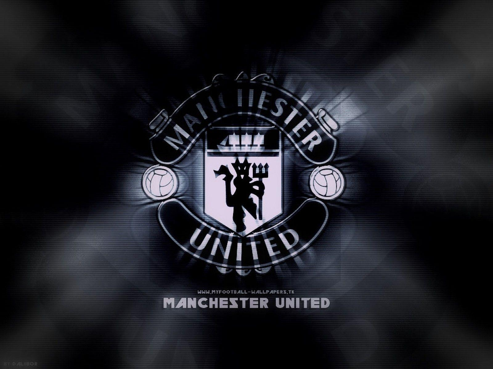 Sports Wallpaper: Manchester United Black Wallpaper Free HD .