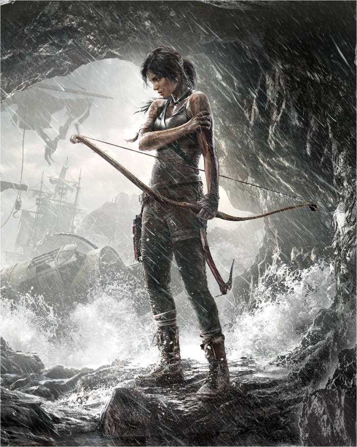 Tomb Raider Definitive Edition For Xbox One And Ps4 4k Hd: Tomb Raider 2016 Android Wallpapers