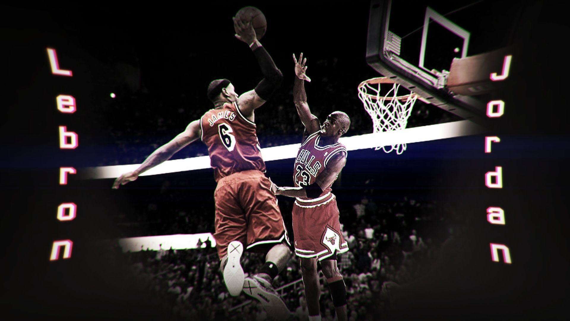 Lebron James Dunking On Michael Jordan By HardWorkRules DeviantArt
