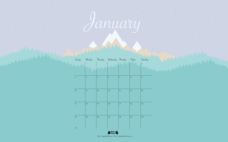 google calendar january 2016 wallpaper - photo #12