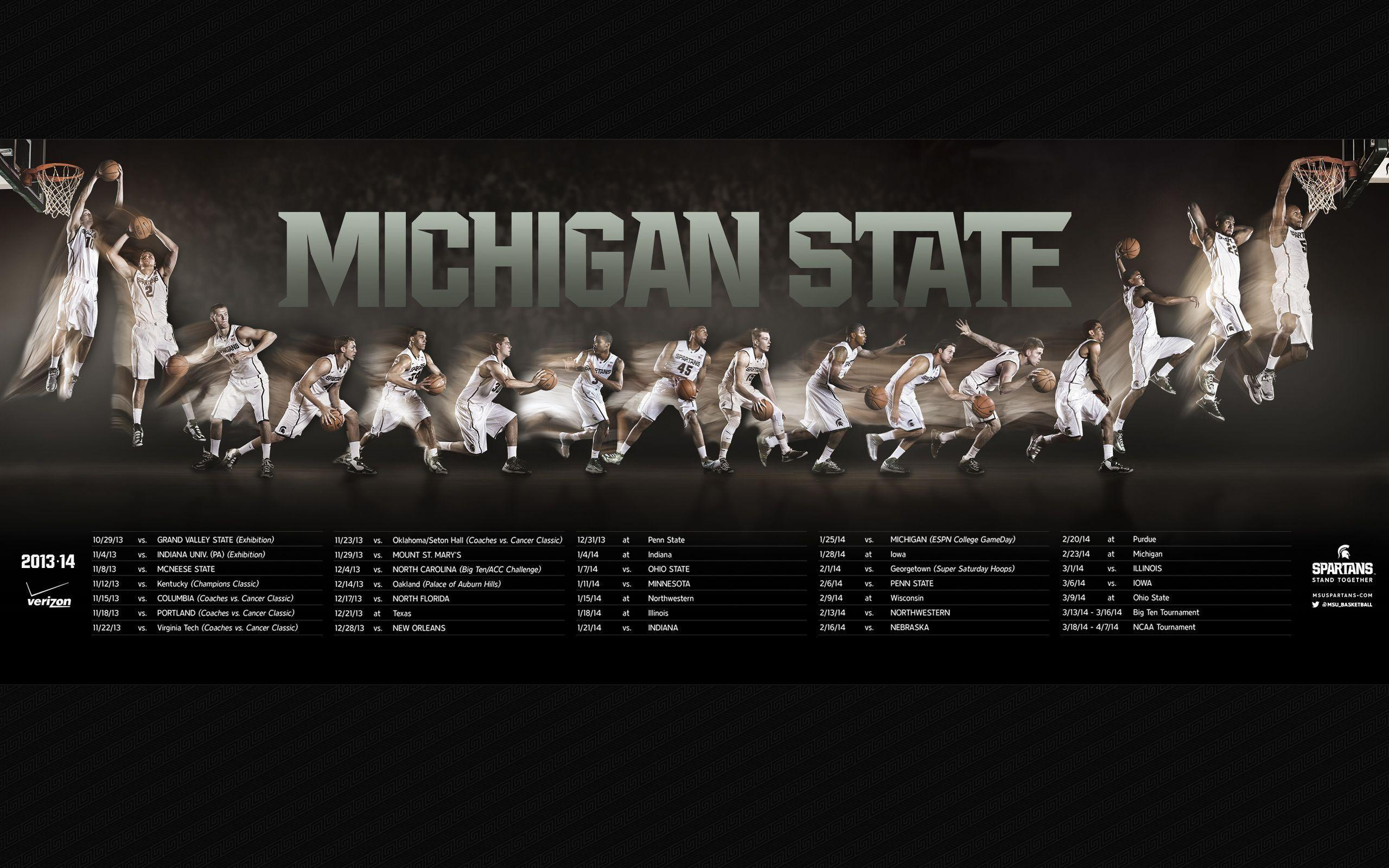 msu football schedule 2016 wallpapers wallpaper cave