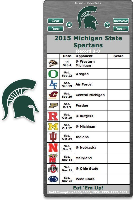 graphic regarding Michigan Football Schedule Printable referred to as Msu Soccer Routine 2016 Wallpapers - Wallpaper Cave