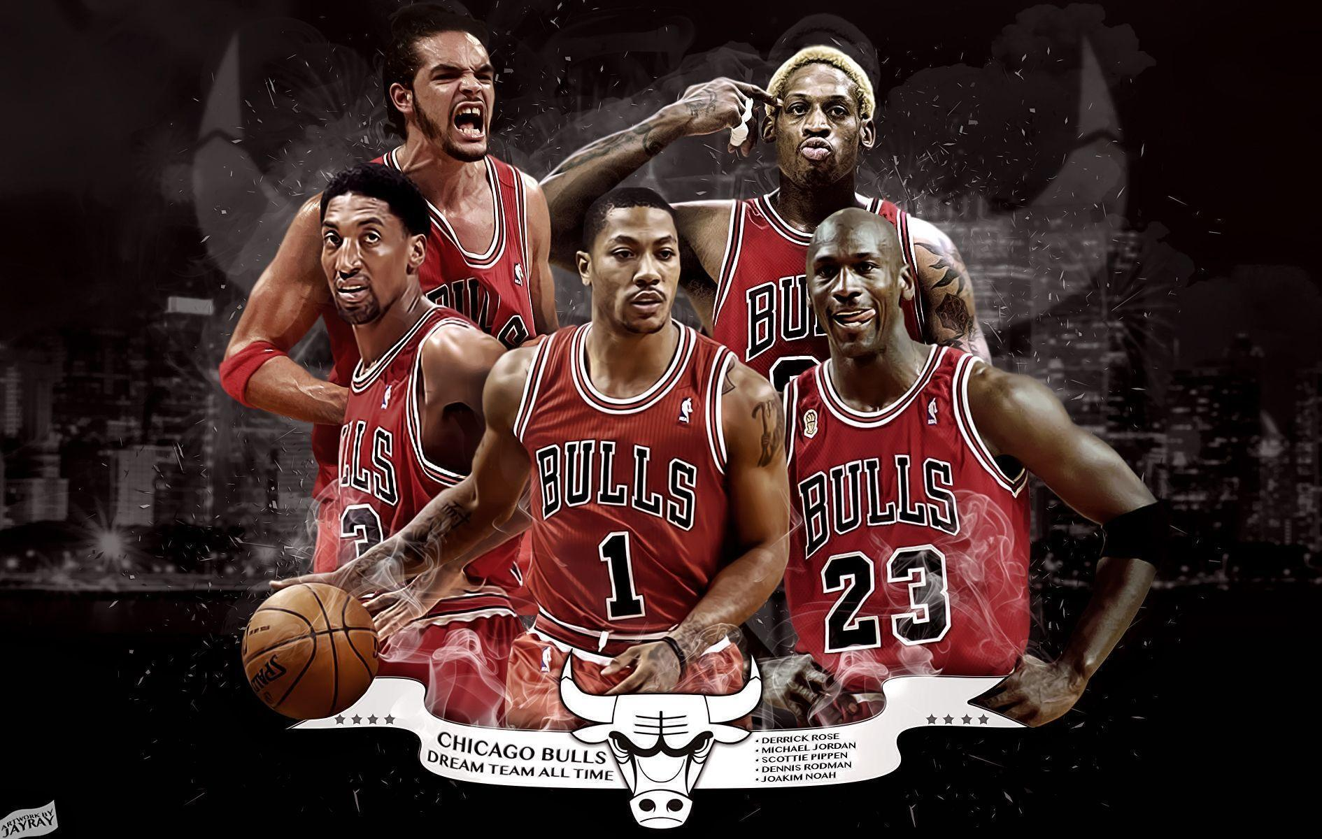 HD Chicago Bulls Backgrounds