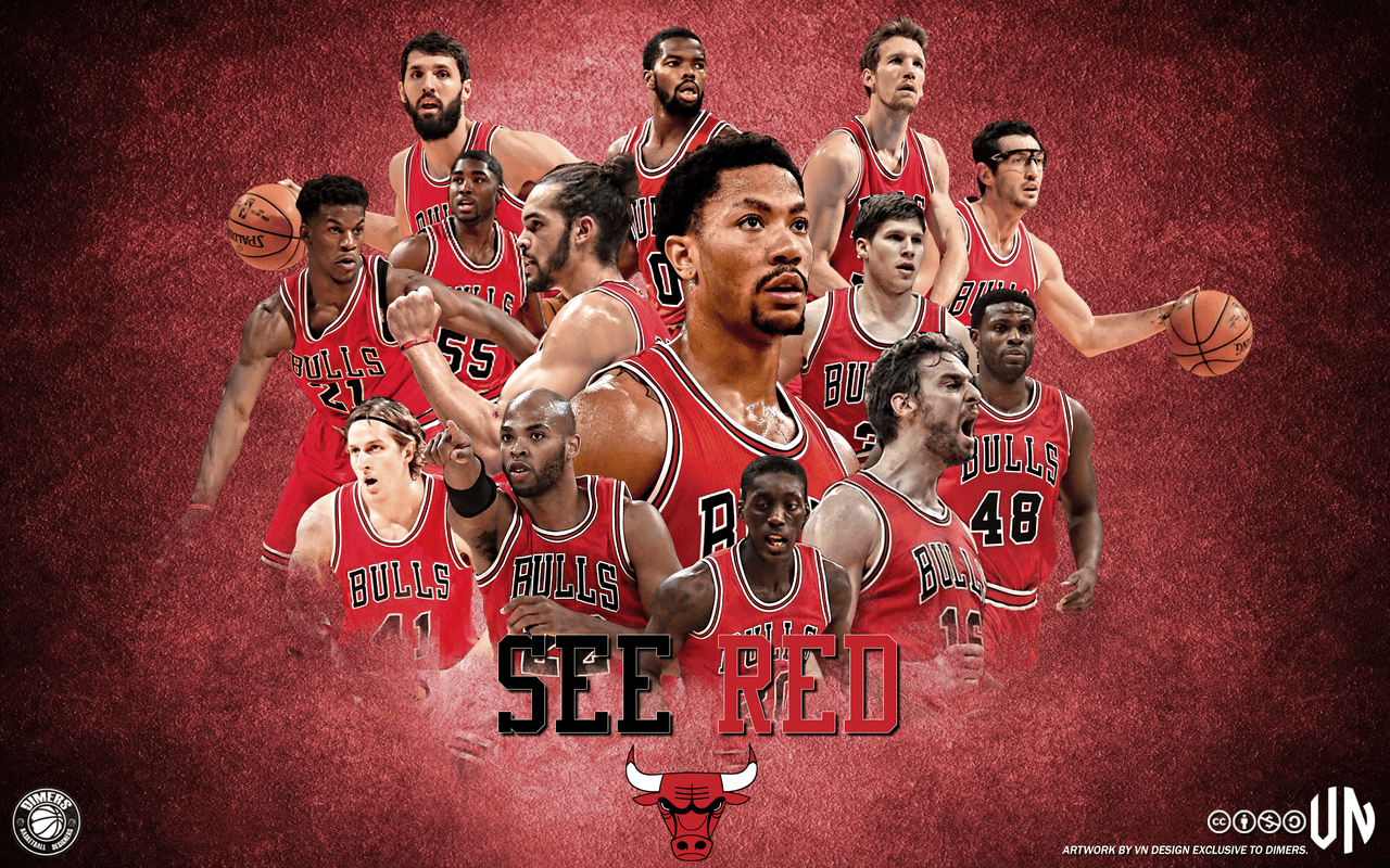 Chicago Bulls See Red by vndesign