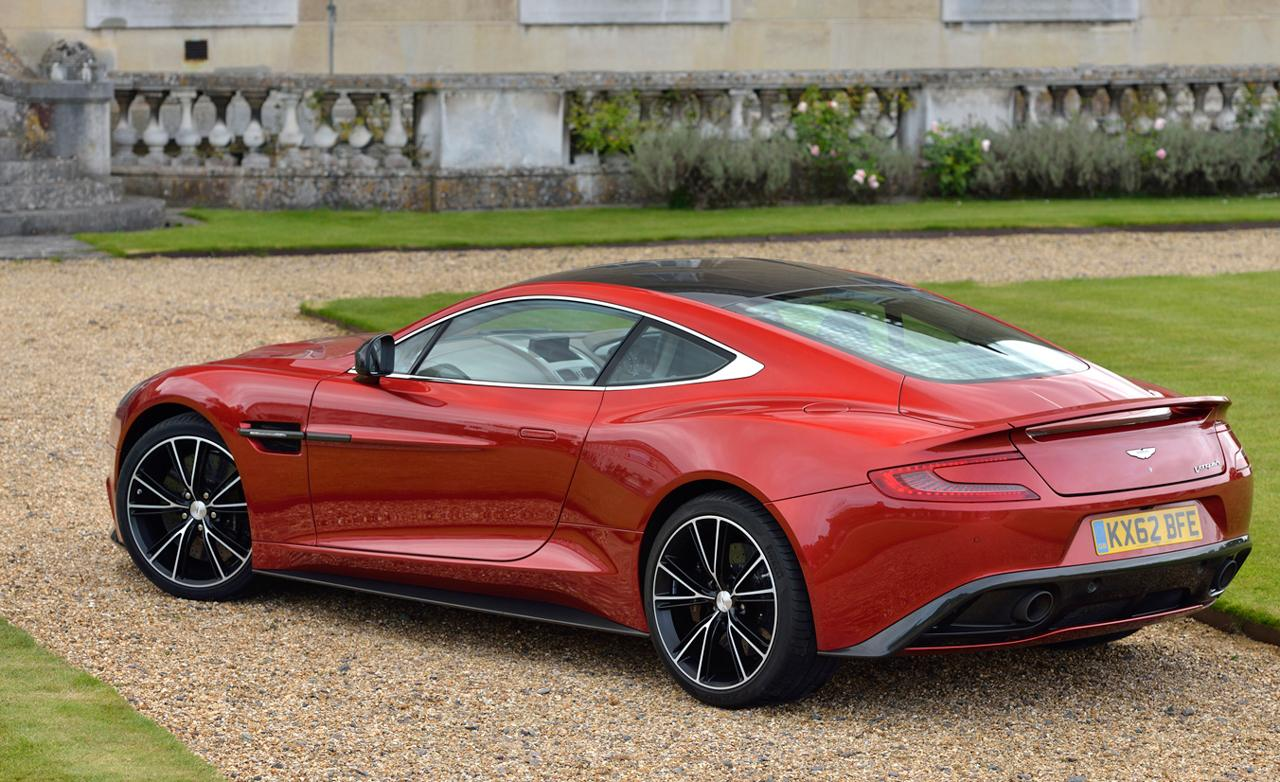 2016 Aston martin Vanquish – pictures, information and specs