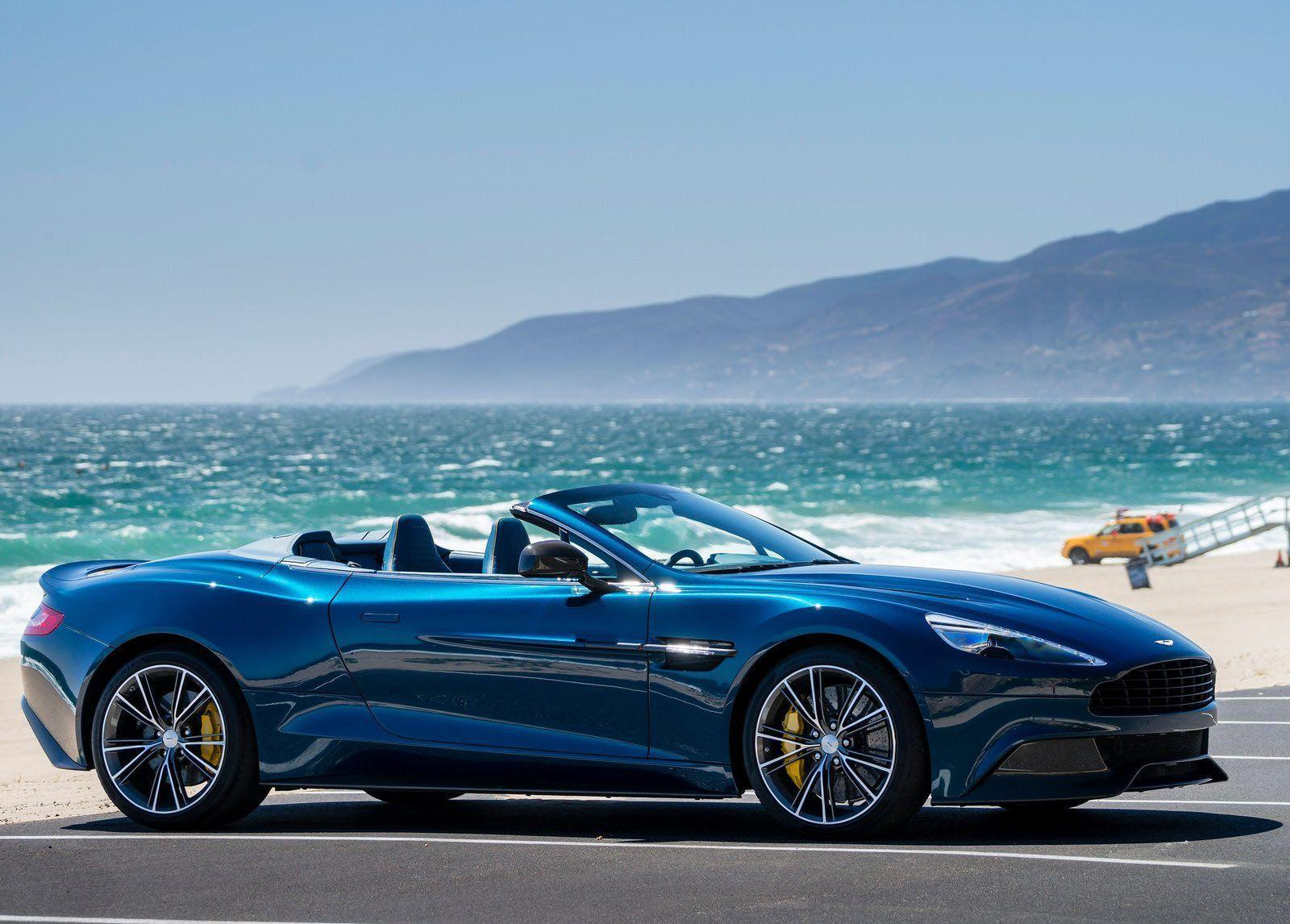 2016 Aston Martin Vanquish Volante Wallpapers
