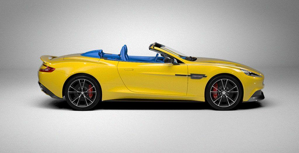 2016 Aston Martin Vanquish Volante Wallpapers Widescreen