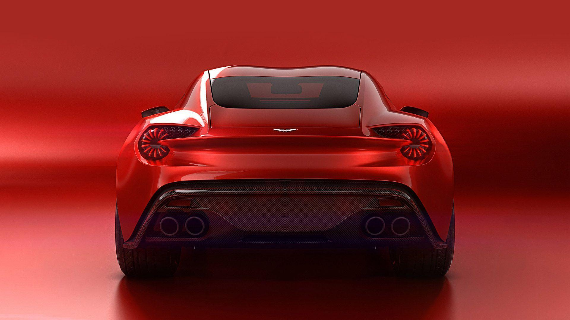 2016 Aston Martin Vanquish Zagato Concept Wallpapers