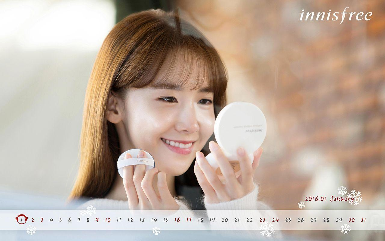 Download SNSD YoonA&Wallpapers Calendar for January 2016