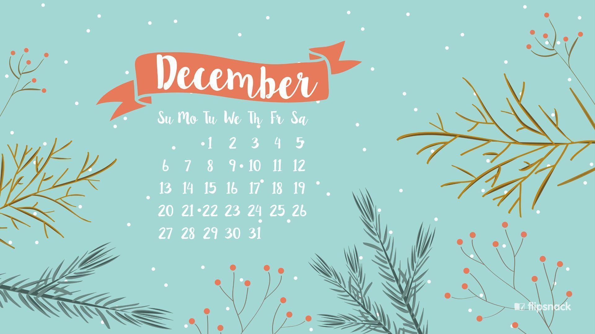 desktop wallpapers calendar december 2016 - wallpaper cave