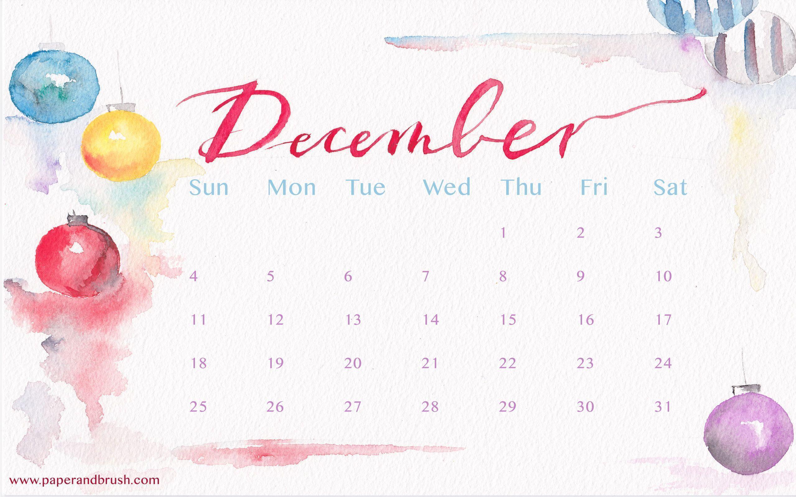 Calendar Desktop Wallpaper December : Desktop wallpapers calendar december wallpaper cave
