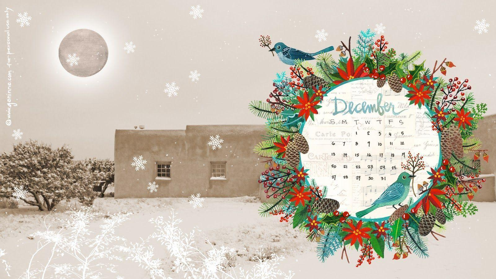 Desktop Wallpapers Calendar December 2016 - Wallpaper Cave