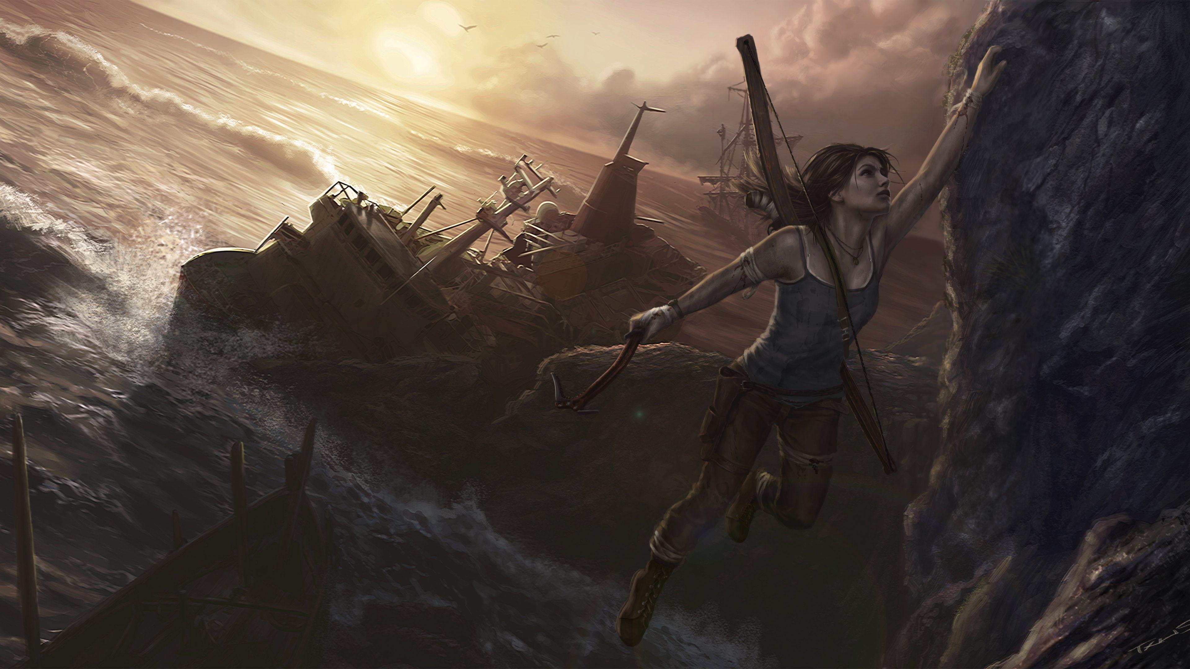 3840x2160 Lara Croft Tomb Raider Artwork 4k Hd 4k: Tomb Raider 2016 Wallpapers HD