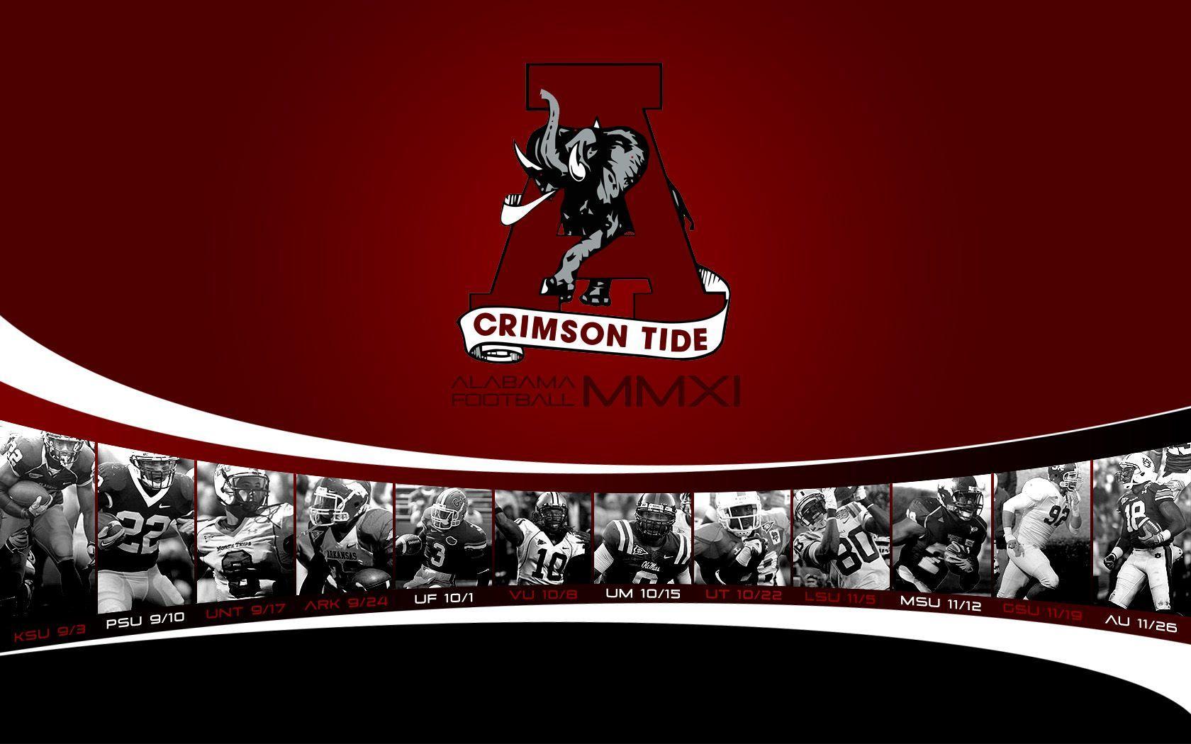 University Of Alabama Football Schedule 2017 >> 2016 Cool Alabama Football Backgrounds - Wallpaper Cave