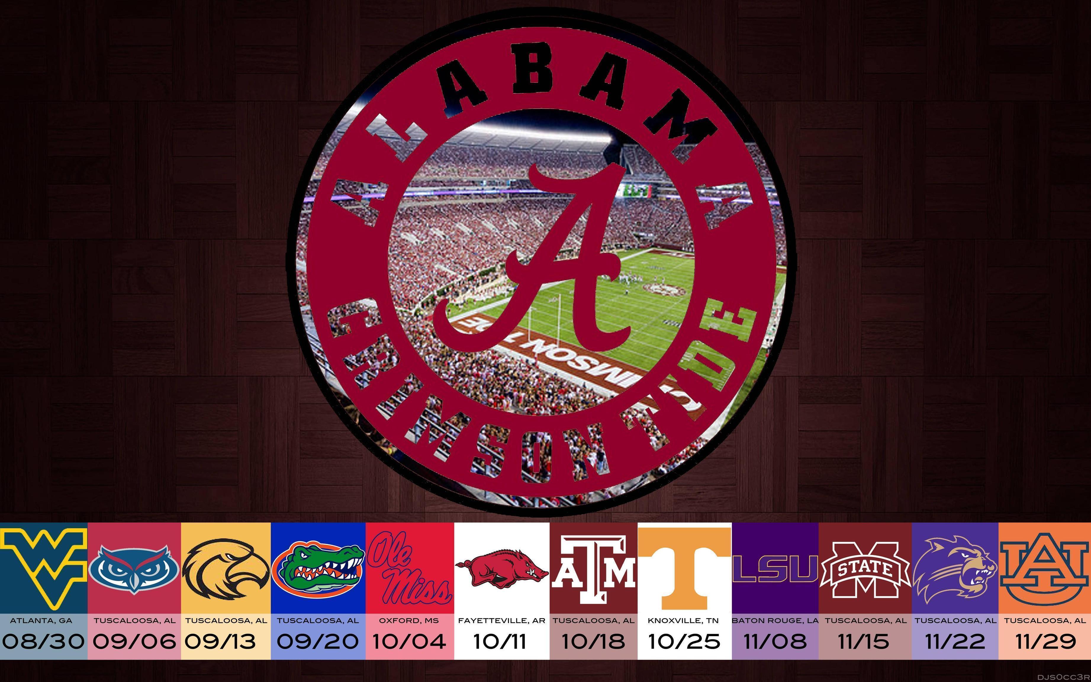 2016 Cool Alabama Football Backgrounds