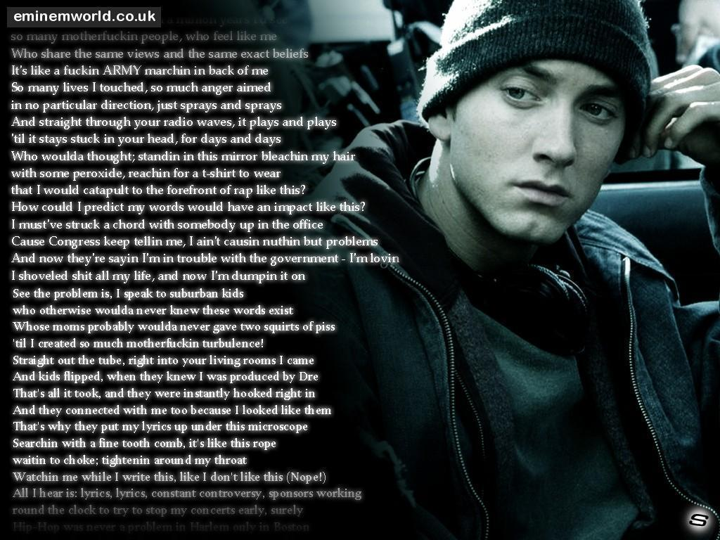 Eminem Wallpapers Desktop - Wallpaper Cave