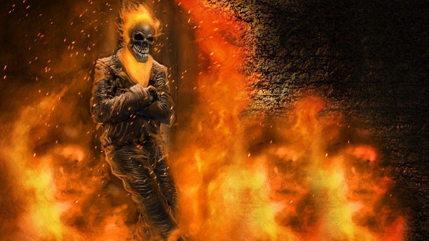 Ghost Rider 2 Wallpaper 3d