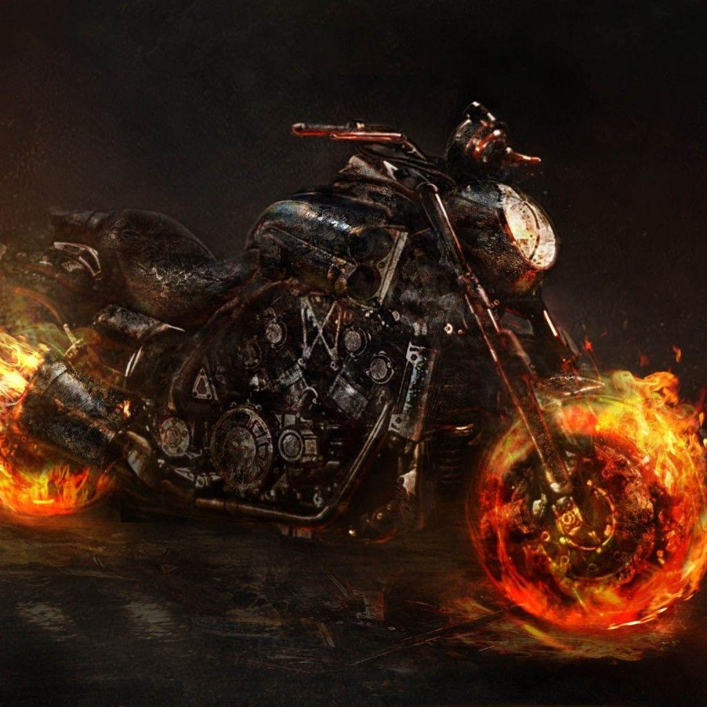 ghost rider wallpaper bike - photo #7