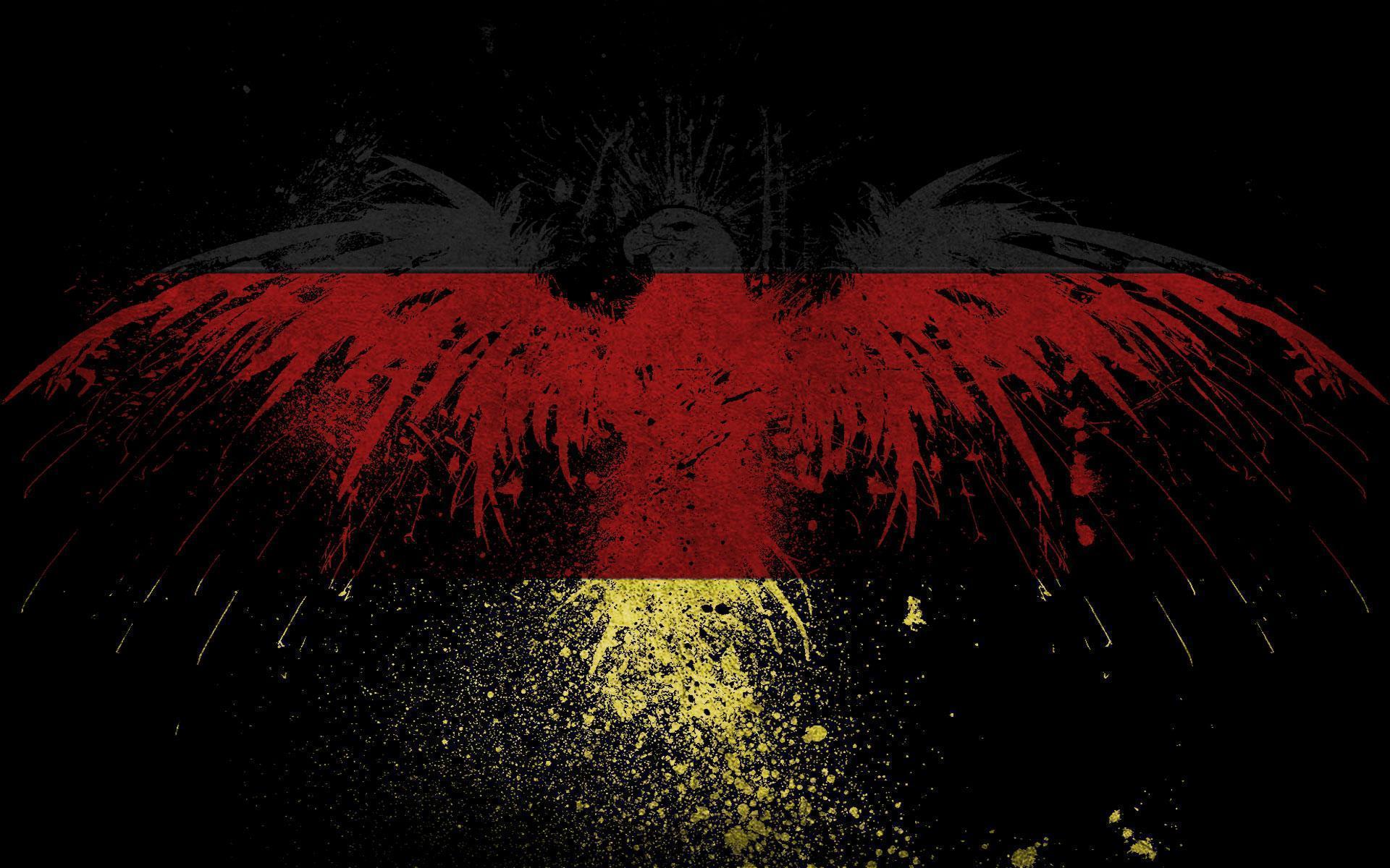 Coole Deutschland Flagge
