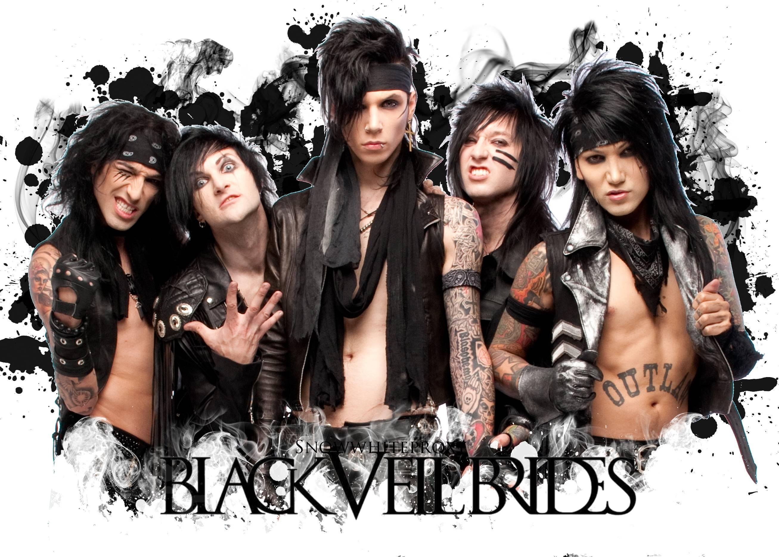Quite black veil brides all became