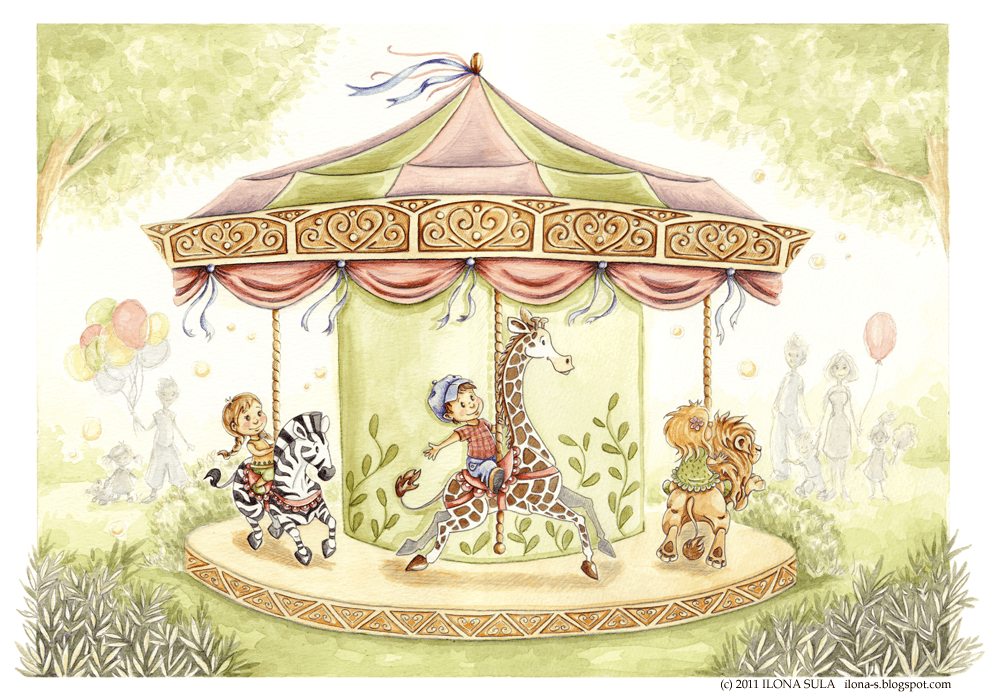 Merry Go Round by Ilona-S on DeviantArt