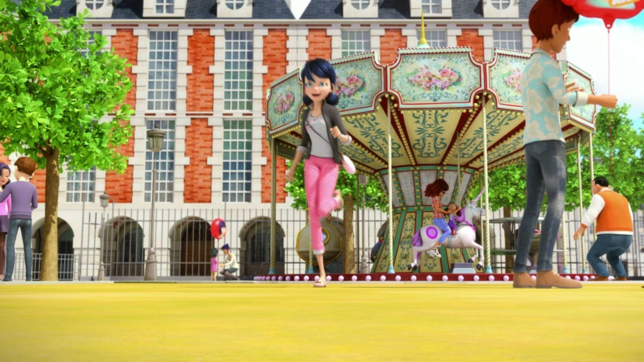 Image - SW Marinette running from merry go round.jpeg - Miraculous ...