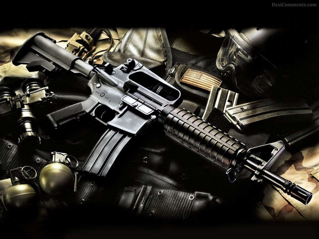 guns background hd - photo #13