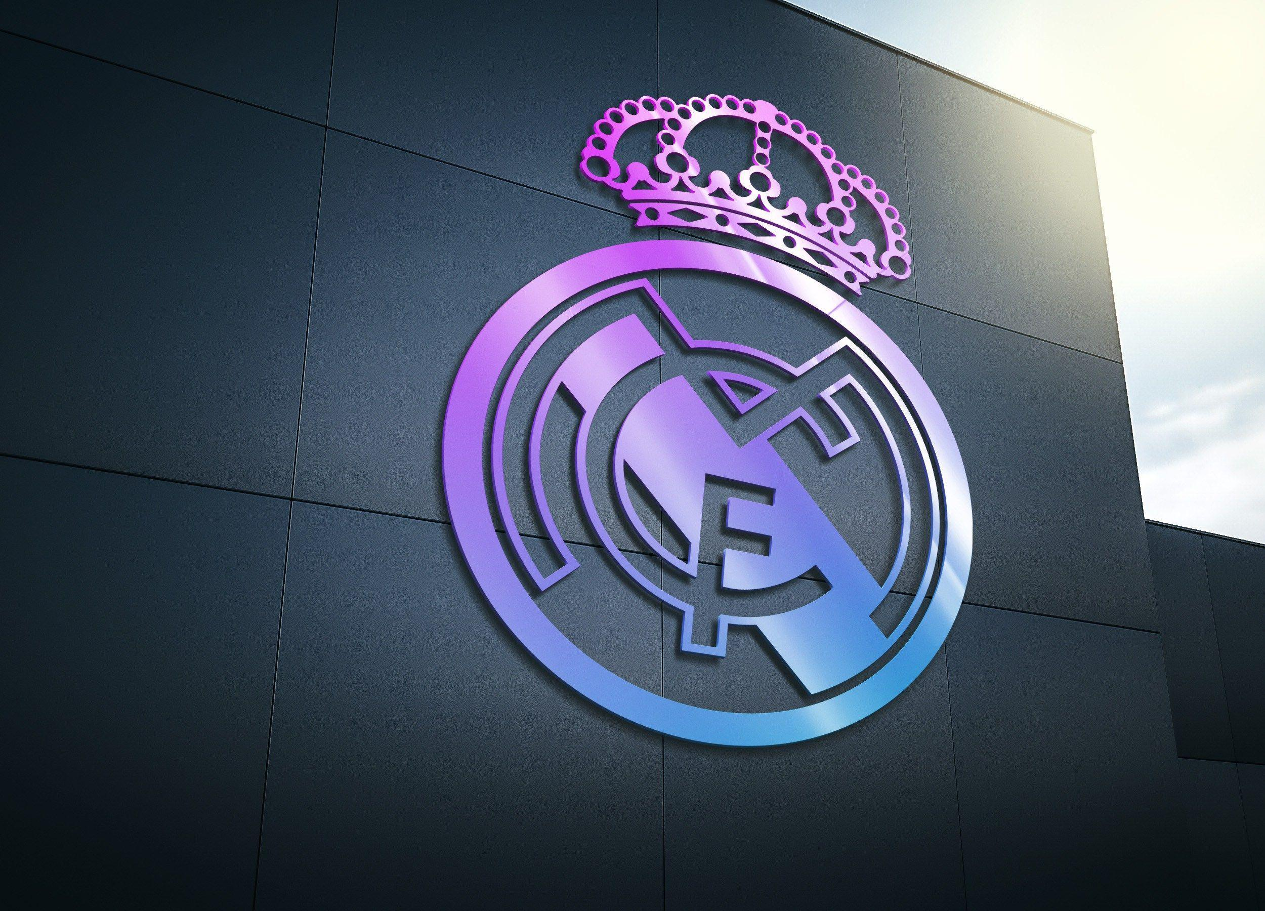real madrid logo wallpapers 2016 wallpaper cave