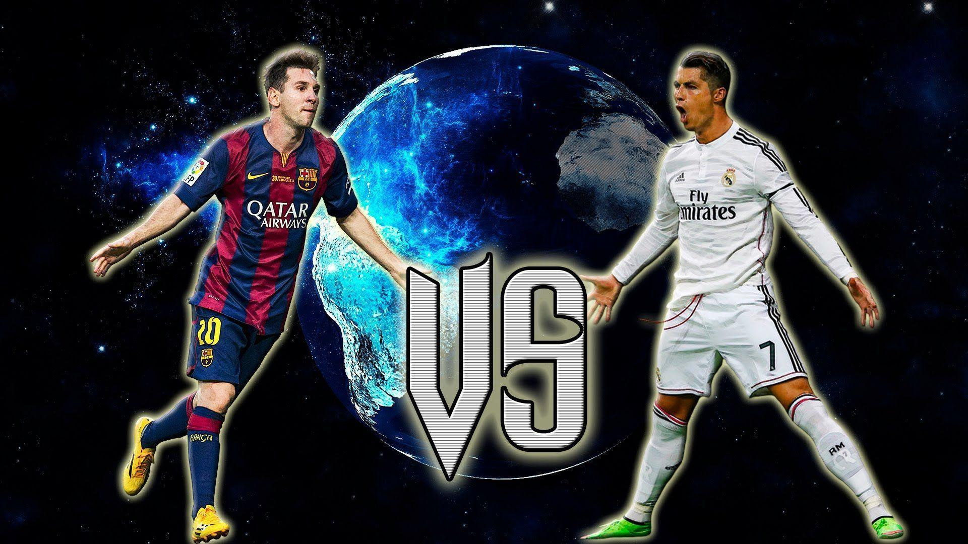 messi 2016 vs cronaldo wallpapers wallpaper cave