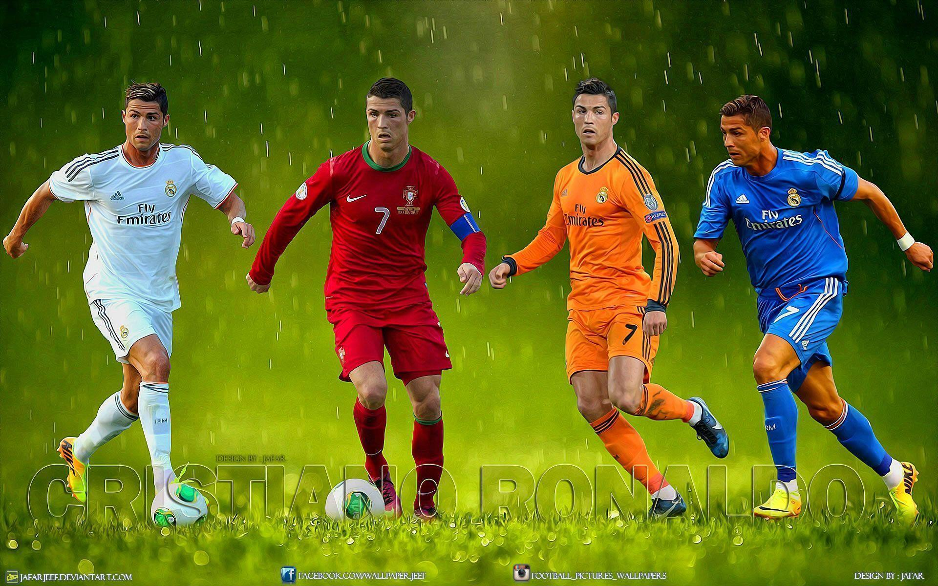 Ronaldo Vs Messi Wallpaper 2014 Messi 2016 Vs C...