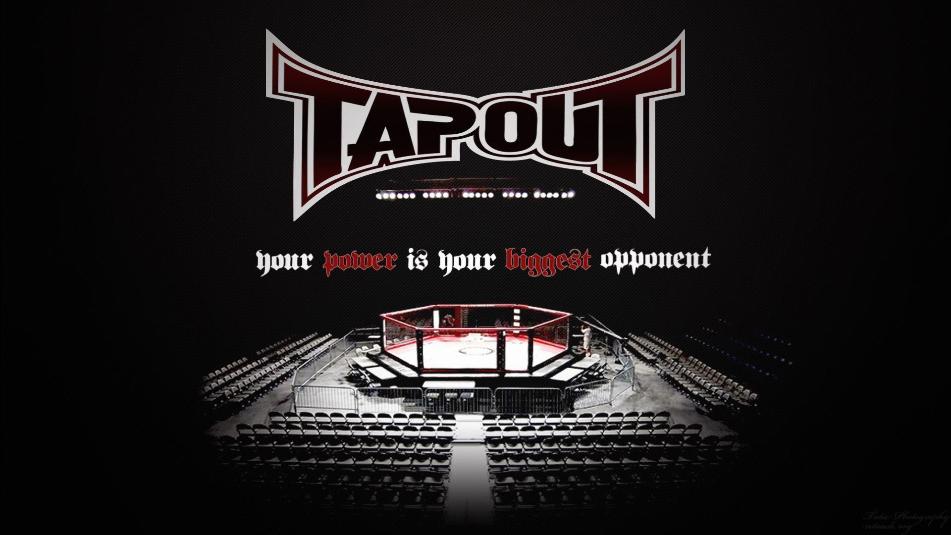 tapout logo red mma - photo #25