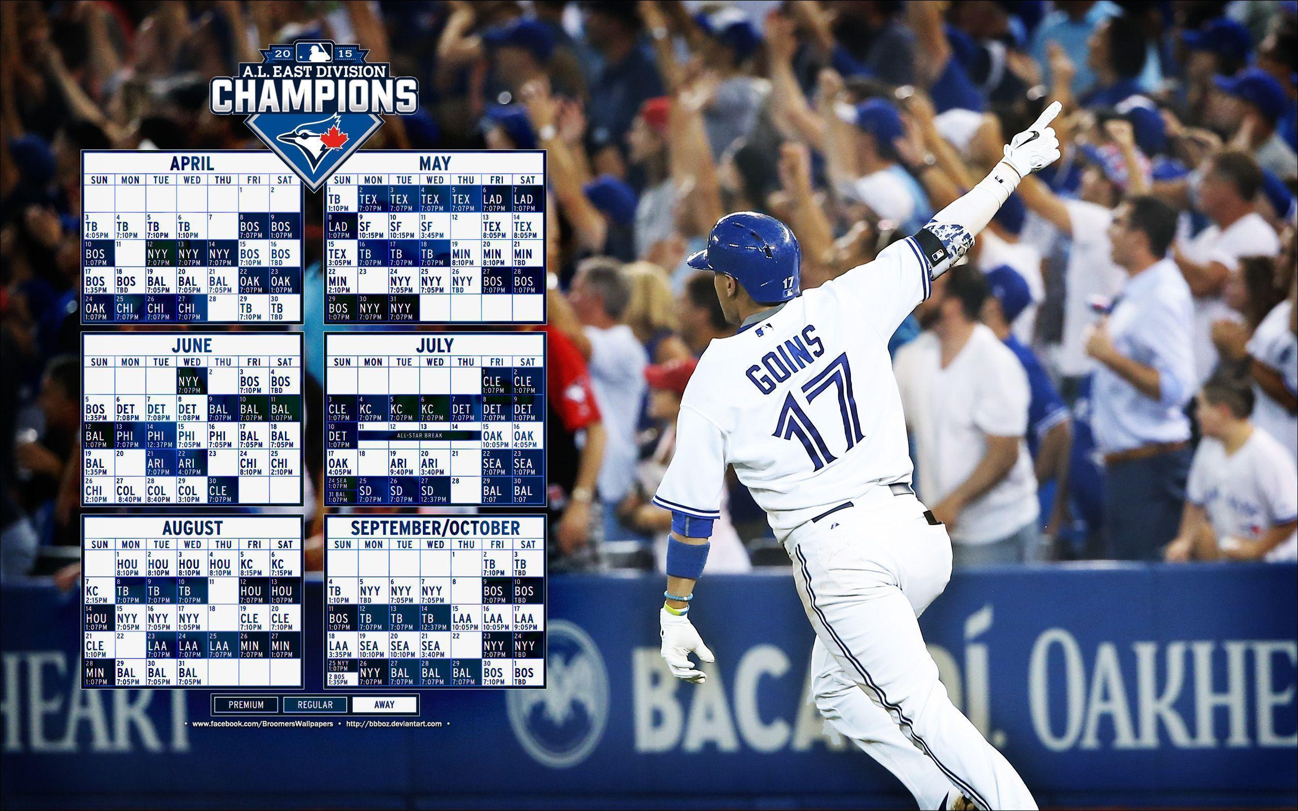 Blue Jays 2016 schedule wallpapers