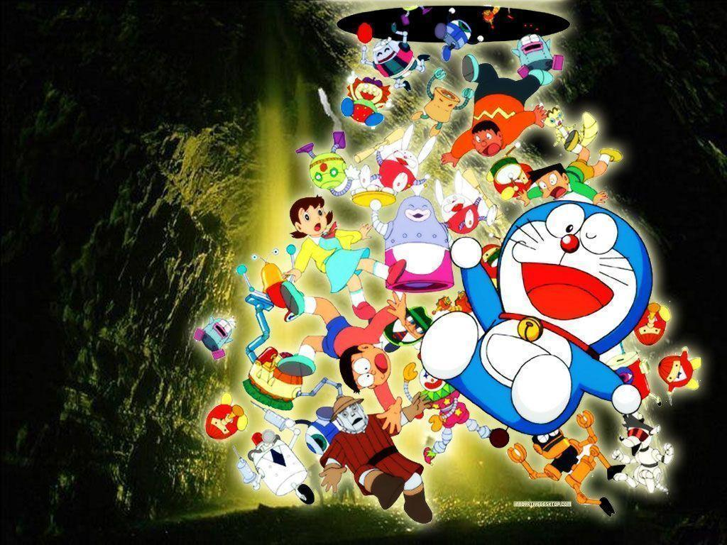 Doraemon and friends wallpapers 2016 wallpaper cave doraemon 3d wallpapers 2015 wallpaper cave voltagebd Images