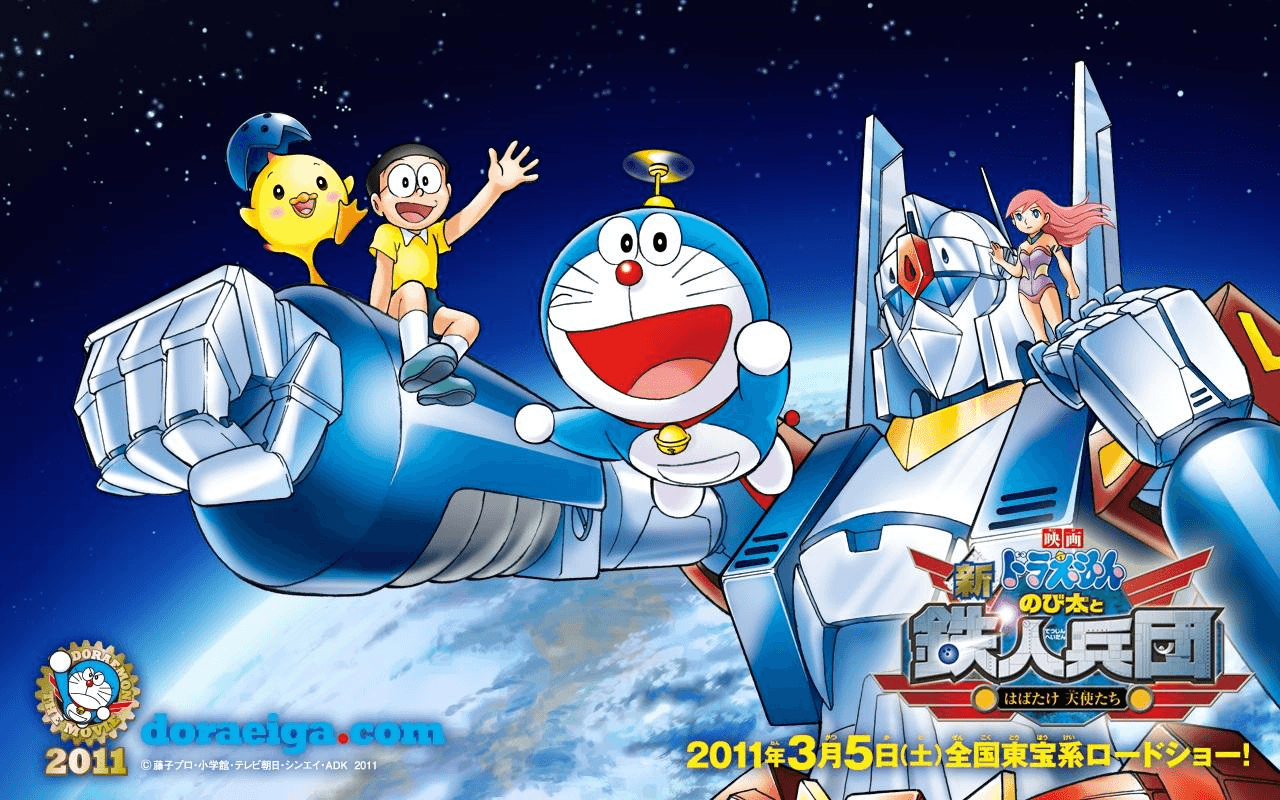 doraemon and friends wallpapers 2016 wallpaper cave