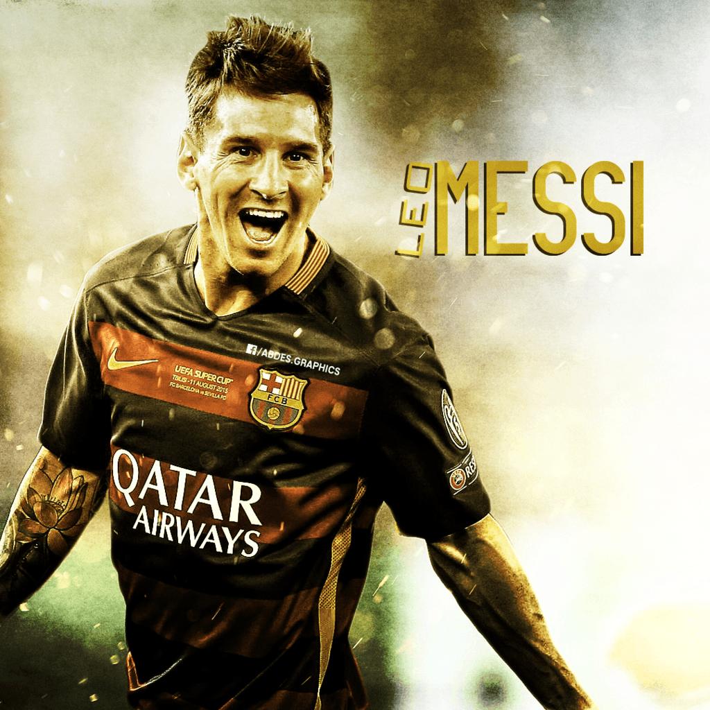 Lionel Messi poster 2015 by Abdessamad-zak on DeviantArt