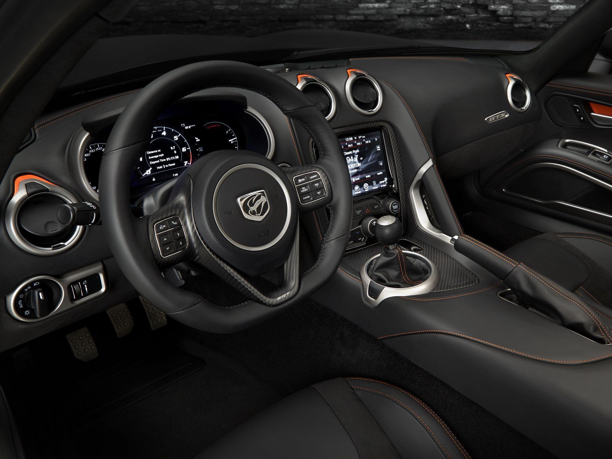 Dodge viper interior image 134