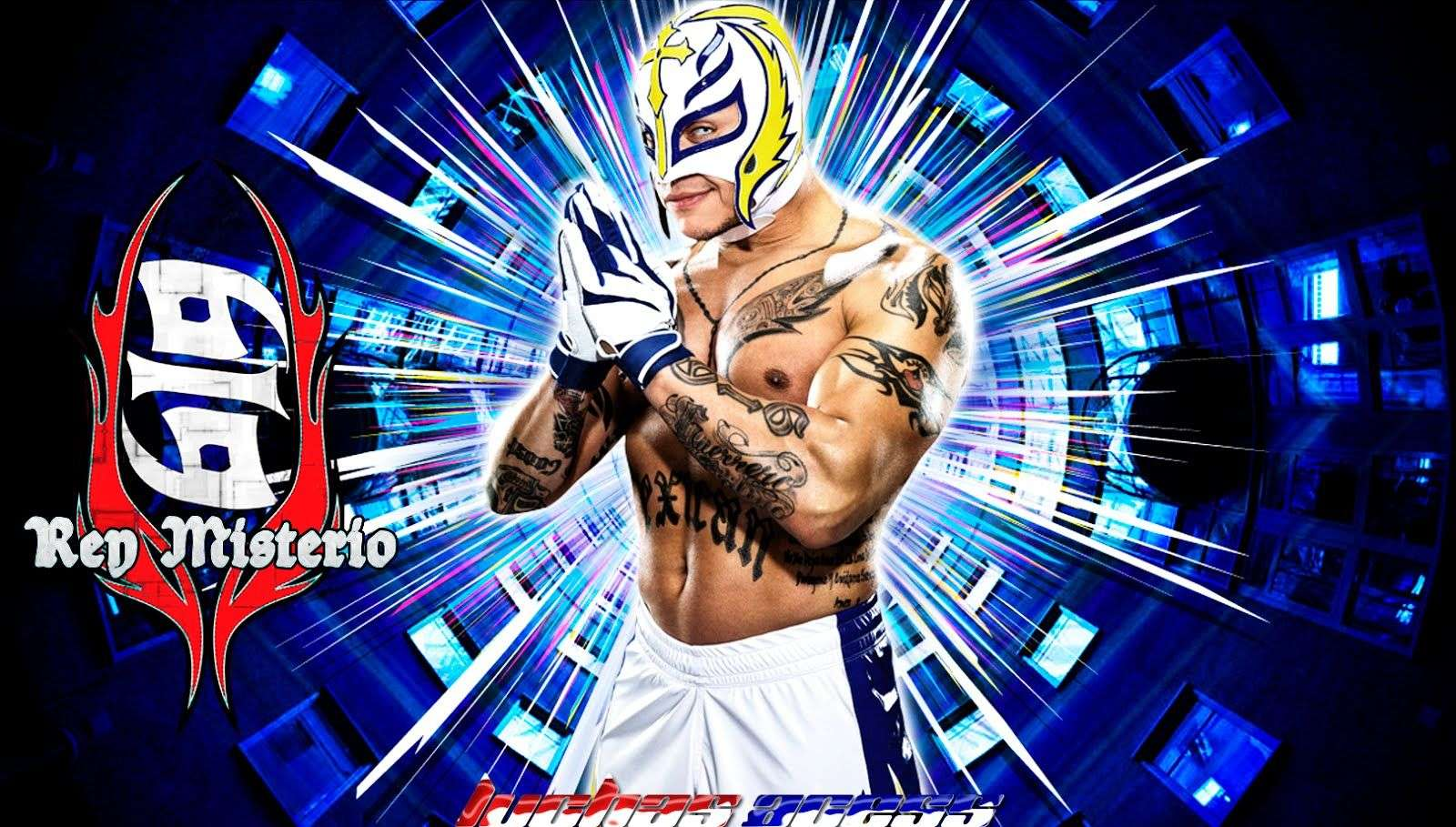 Rey Mysterio 2016 Full Hd Wallpapers Wallpaper Cave