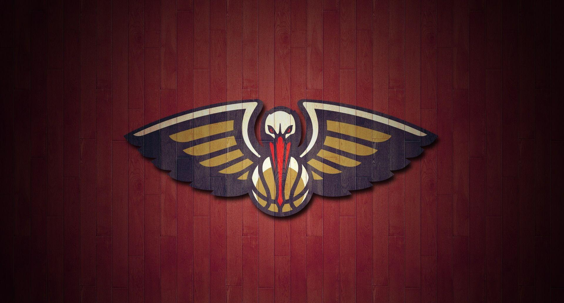 NBA New Orleans Pelicans Logo Team Red wallpaper HD 2016 in ...
