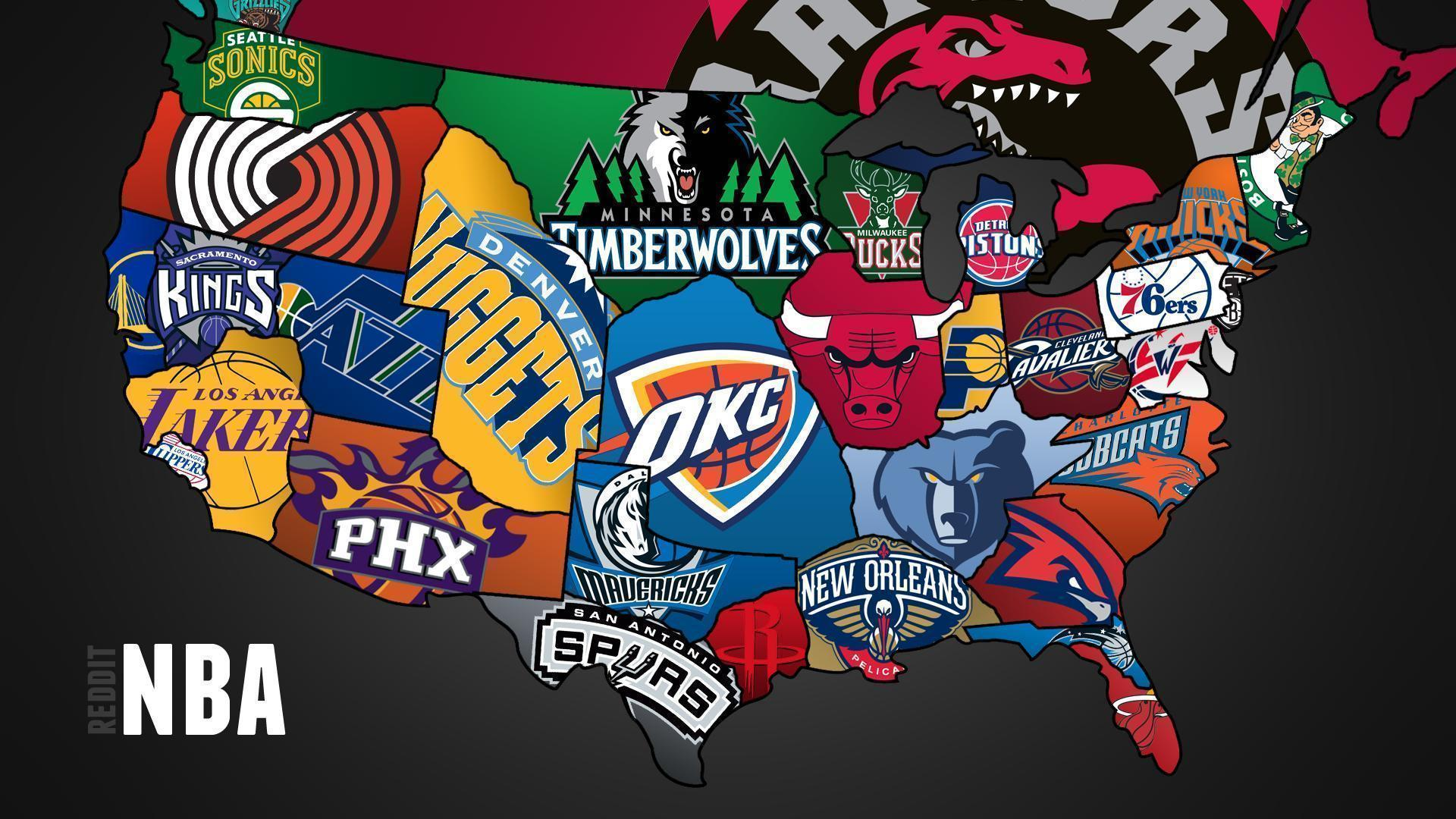 cool map of nba teams 1920x1080 full hd 169 wallpaper
