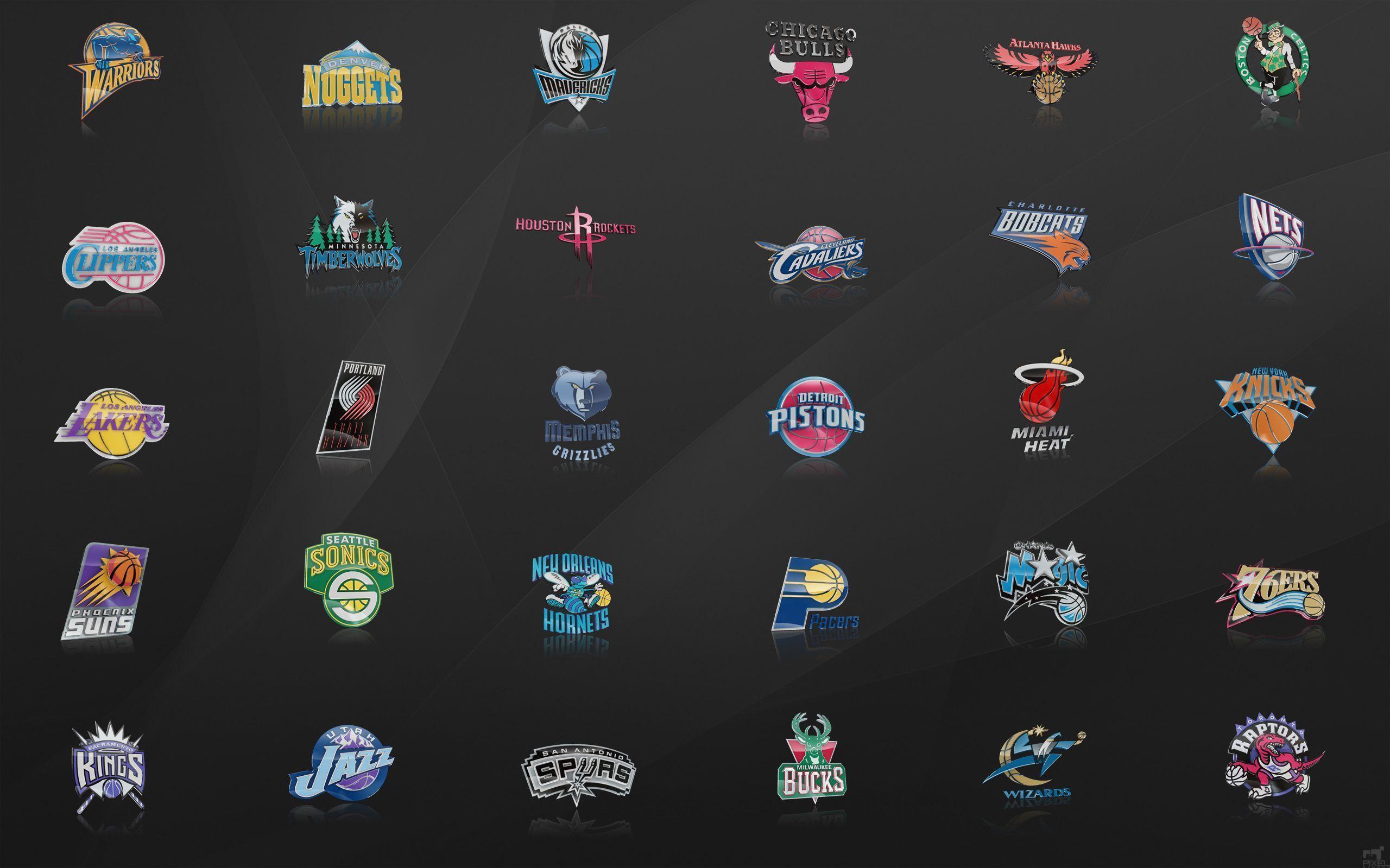 Nba Team Logos Wallpapers 2016 Wallpaper Cave