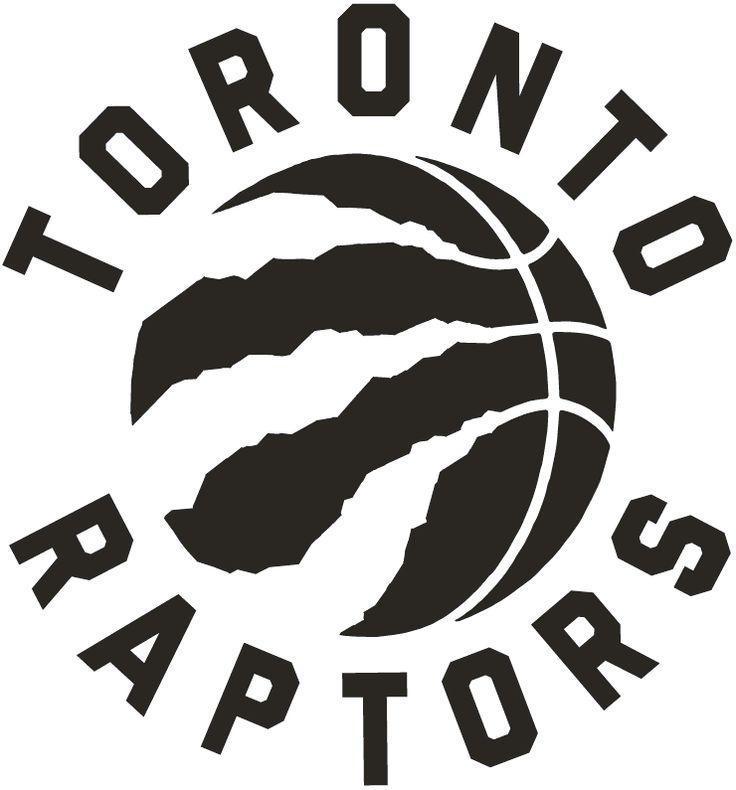 how to draw the toronto raptors logo