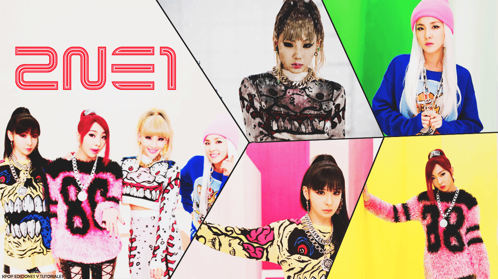 Wallpapers 2NE1 by hannady