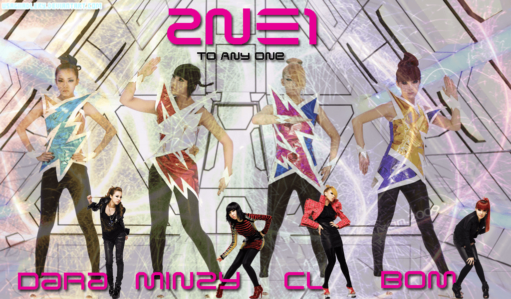 2NE1 Wallpapers by UsagiiAdlery
