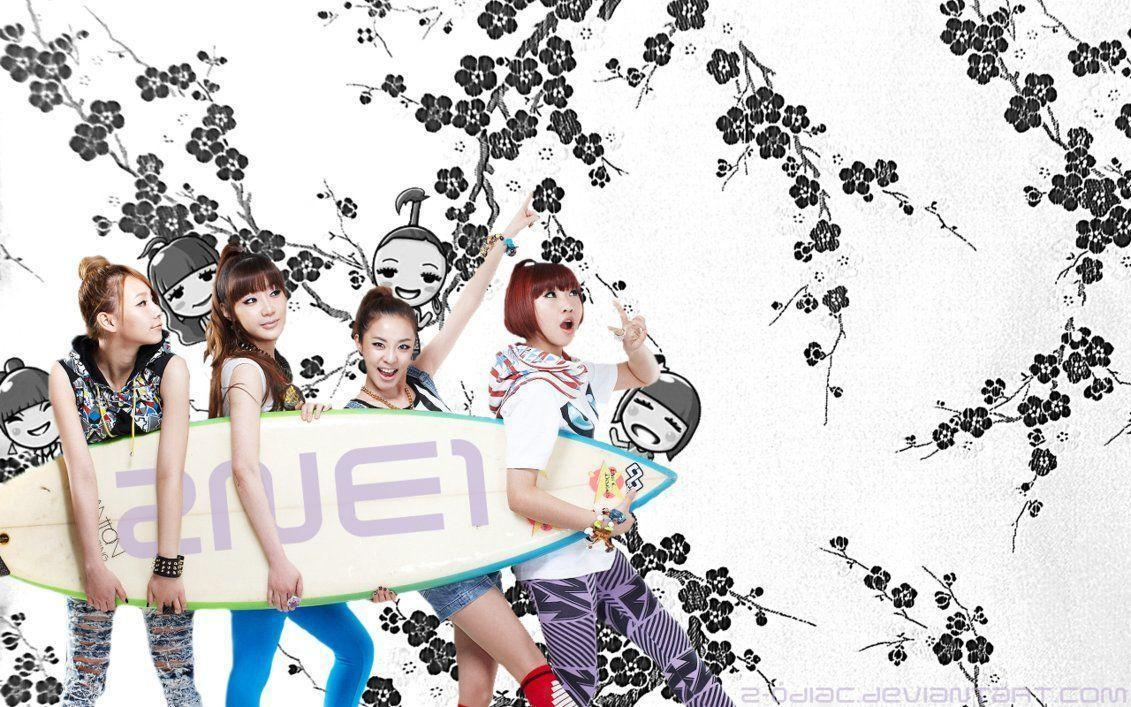 2NE1 Wallpapers by z