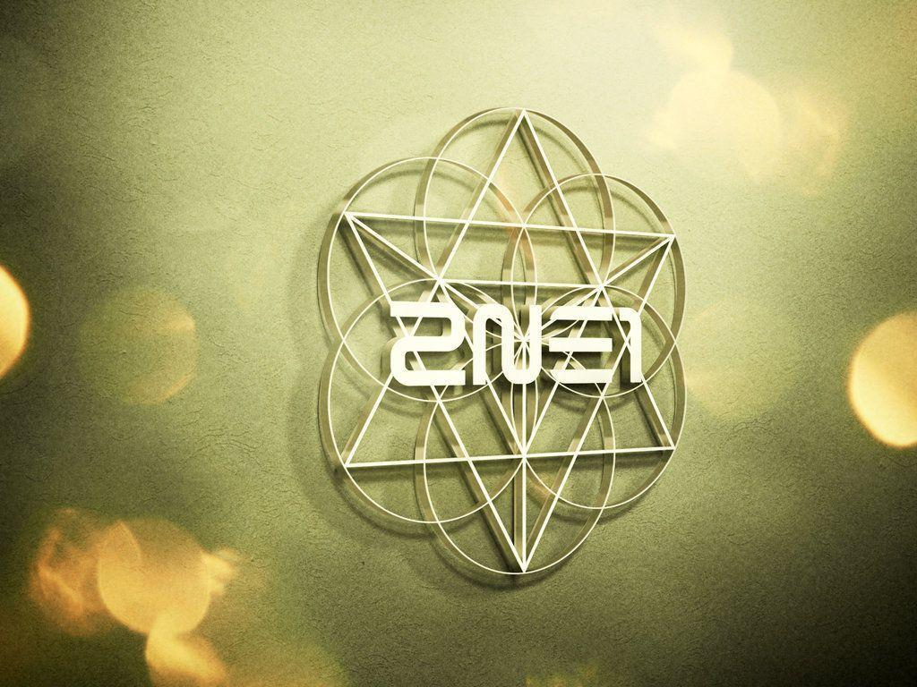 wallpapers 2ne1 logo by bibi97nd